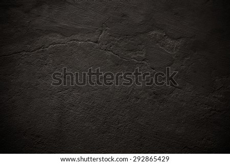 Dark brown old concrete wall texture for  Textured background - Shutterstock ID 292865429