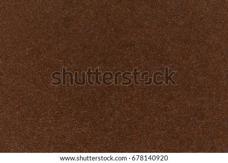 Dark brown paper texture cardboard background. High resolution photo. #678140920