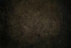 Dark brown textured background. Horror background