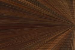 Dark brown wood marquetry sunburst pattern