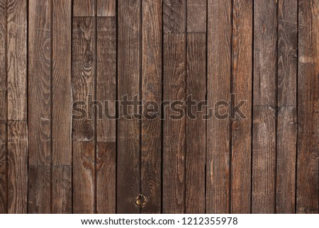 Dark brown wood texture with natural striped pattern for background #1212355978