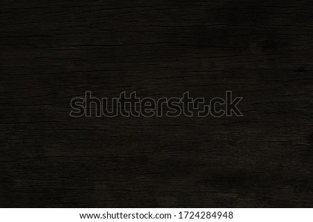 Dark brown wood with broken pattern on surface  for texture and background