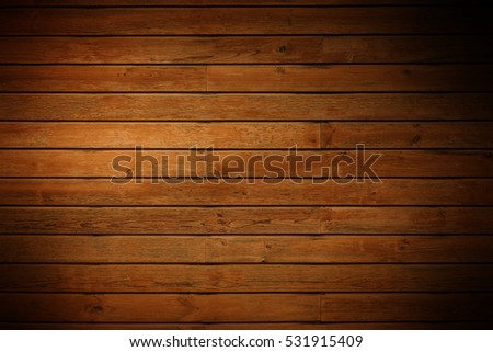 dark brown wooden panels
