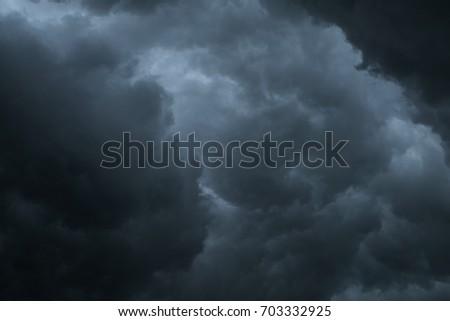 dark cloud or dark cloud background #703332925