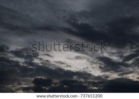 dark cloud or dark cloud background
