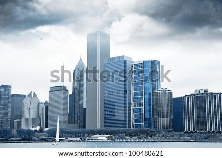 Dark Clouds on Finance District