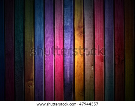 dark colorful wooden wall  background