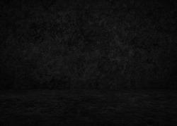 dark concrete interior, plaster black background
