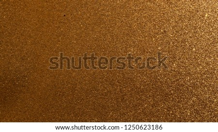 Dark gold glitter texture background special for Christmas #1250623186