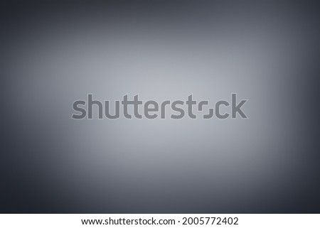 Dark gray abstract Background. Texture light grey, Dark charcoal gray border vignette with gradient blur backdrop. Digital illustration colored sober look cool, balanced, strength and mystery of black Photo stock ©