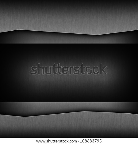 dark gray background of metal texture illustration