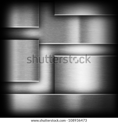 dark gray background of metal texture illustration