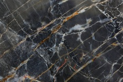 Dark gray marble pattern (Gold Russia) for design.