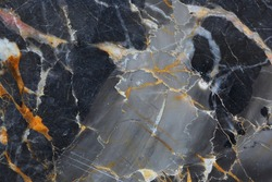 Dark gray marble patterned texture background for design.