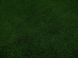 Dark Green Artificial Turf Grass Texture Background