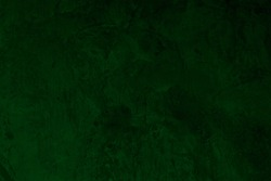 Dark Green Cement concrete wall texture abstract. Interior material construction blank for old backdrop building. Retro wallpaper grunge background.