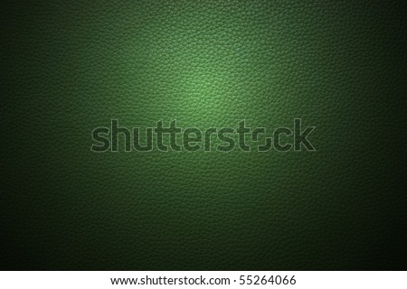 dark green leather texture to background