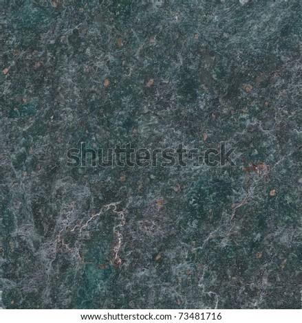 Dark green marble texture background (High resolution scan)