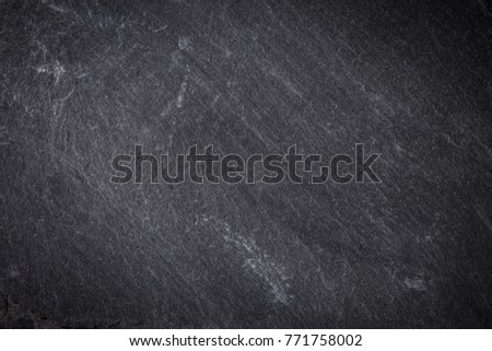 Dark grey and black slate background or texture #771758002