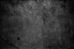 Dark grey background. Grunge texture wallpaper