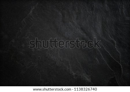 Dark grey black slate background or texture #1138326740