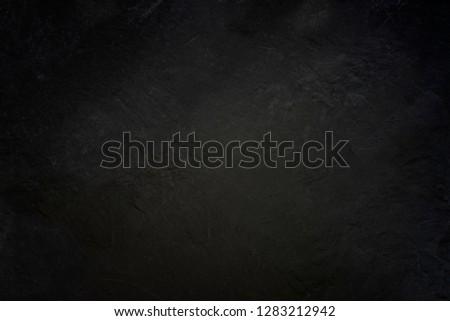 Dark grey black slate background or texture #1283212942