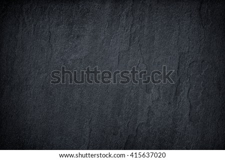 Dark grey black slate background or texture. #415637020