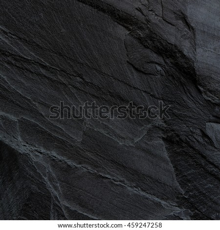 Dark grey black slate background or texture. #459247258