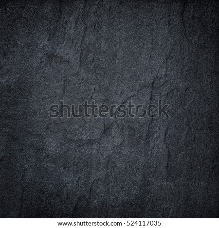 Dark grey black slate background or texture. #524117035