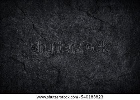 Dark grey black slate background or texture. - Shutterstock ID 540183823