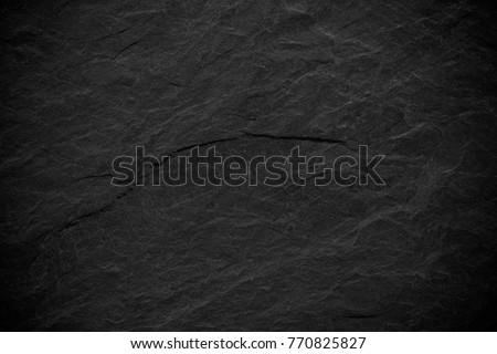 Dark grey black slate background or texture. #770825827