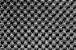 Dark grey packing or acoustic foam