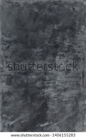 dark grey stucco  background. Slate texture with graphite pigment. #1406155283