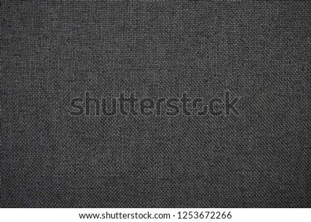 dark grey textile texture canvas       #1253672266