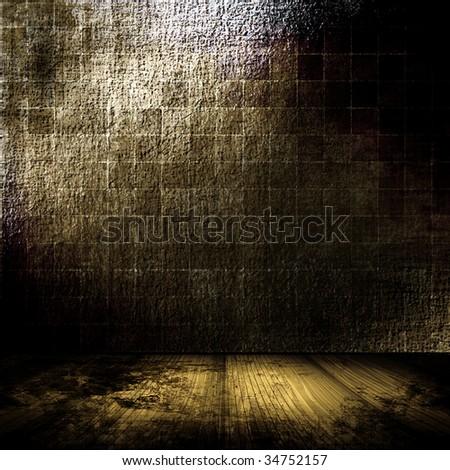 Dark Grunge Room
