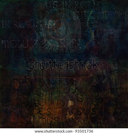 dark grunge textured artistic abstract background for creative artworks