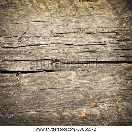 dark grungy wooden desk