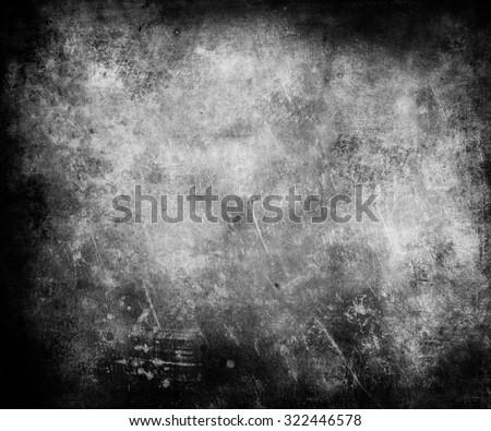 Dark Halloween Scratched Grunge Texture Background