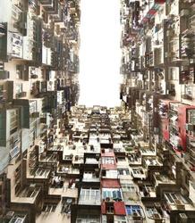 Dark Hole, Old apartment inTai Koo, Hongkong