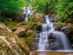 Dark Hollow Falls - a beautiful fall in Shenandoah national Park