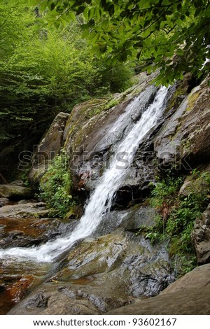 Dark Hollow Falls at Shenandoah National Park in Virginia