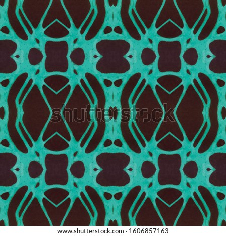 Dark Horizontally seamless design. Ornamental Geometry. Ornamental Geometry. Black Tile Dressing element Dark Texture. Bright Kaleidoscope Effect. Floral Pattern. Floral Pattern.