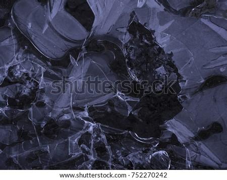 dark ice texture