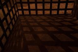 Dark Jail prison dungeon concept