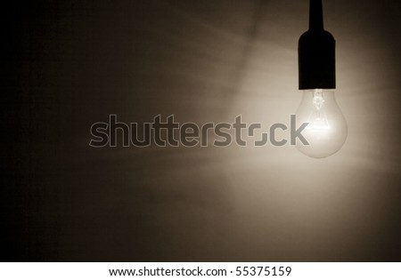 dark light bulb