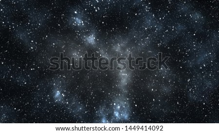 dark matter and galaxies in space. Elements of this image furnished by NASA.