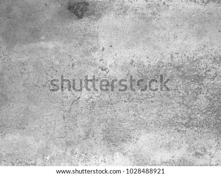 Dark Messy Dust Overlay Distress Background. Black And White Urban Vector Texture Template. #1028488921