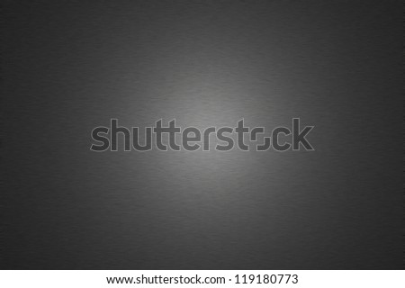 Dark metal surface with halo lighting for use as a background design element