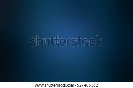 Dark navy blue stage blurred shaded background