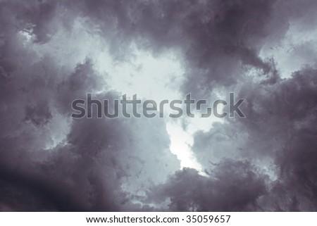 dark night storm sky background